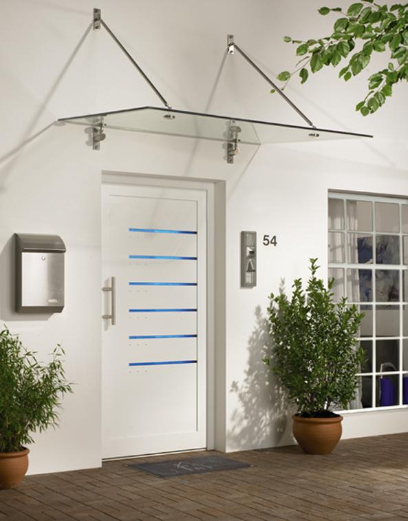 vordach typ basic ii bader glastechnologie. Black Bedroom Furniture Sets. Home Design Ideas
