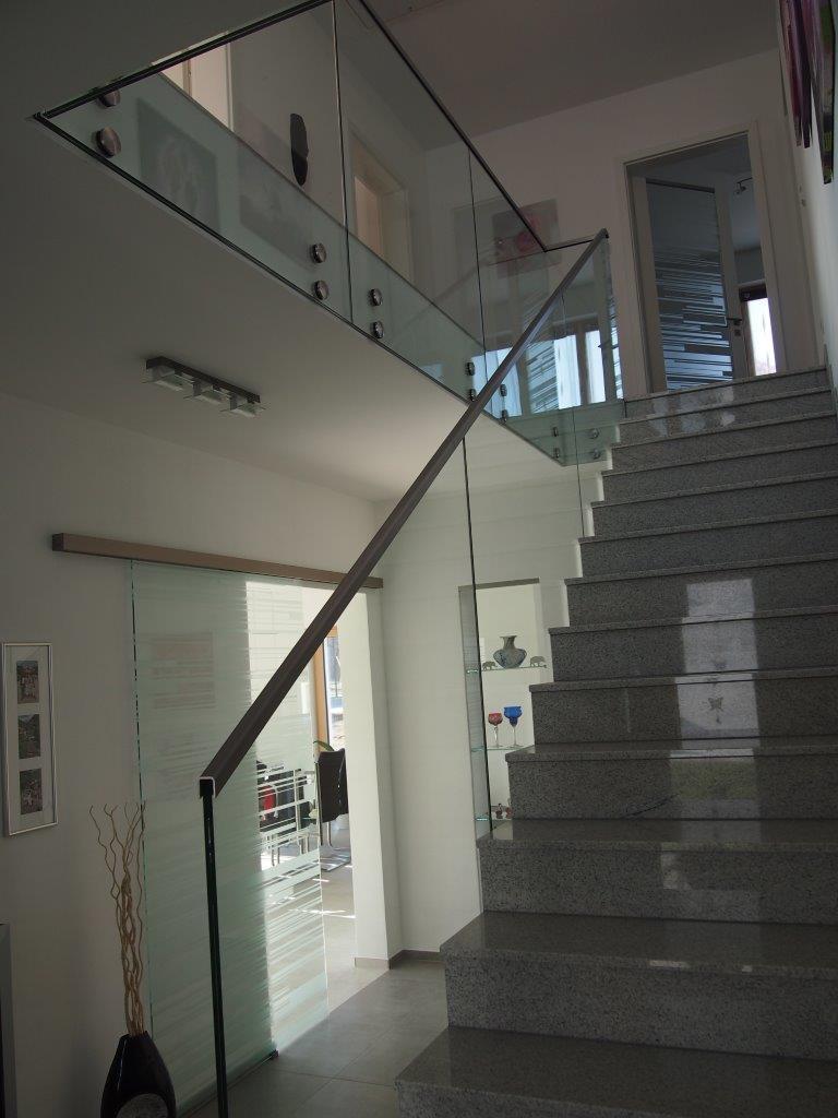 Treppengeländer Punktgehalten Dresden 2